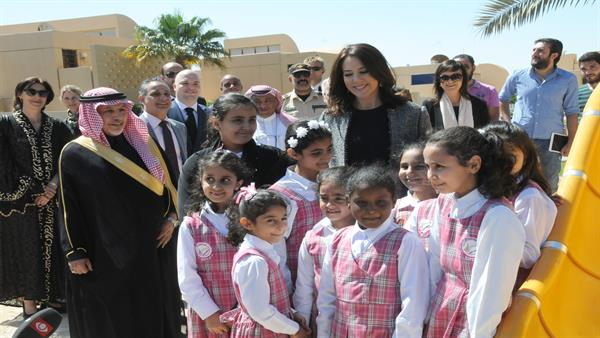 crown princess visit to mofa