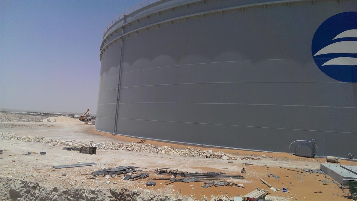 Strategic Water Tanks Riyadh
