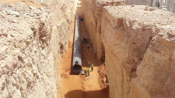Installation Of Carbon Steel Pipes